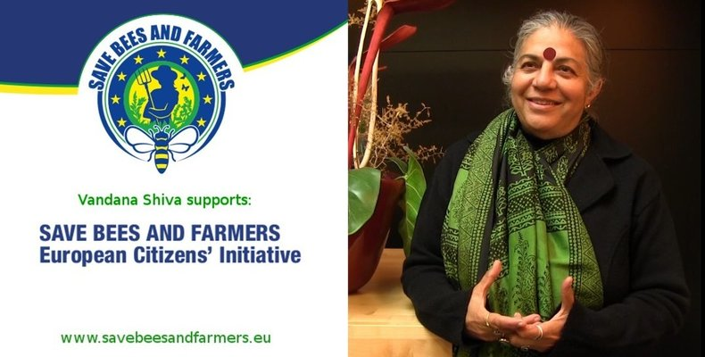 Vandana Shiva supports the ECI